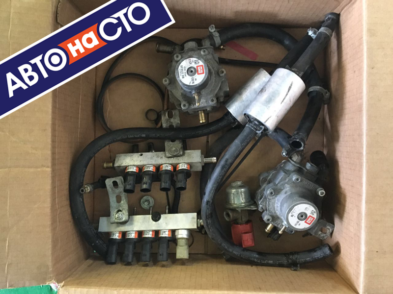 Демонтаж газового оборудования на автомобиле своими руками